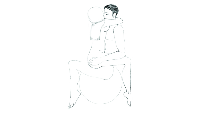 Bouncy Ball Sex 101 Position 3 - The Rocker | Naughty Guide