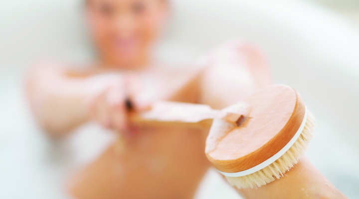 Beauty Tip Body Brushing | Naughty Guide