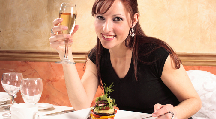 Wine and Dine Yourself For More Confidence | Naughty Guide